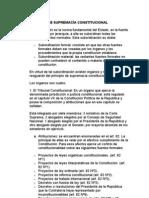 PRINCIPIO DE SUPREMACÍA CONSTITUCIONAL e