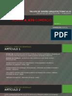 Norma A_070 Comercio