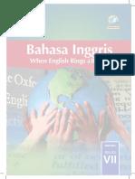 Buku Kelas VII Bahasa Inggris BS