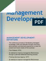Seminar on Management Development
