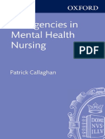 Patrick Callaghan, Helen Waldock-Emergencies in Mental Health Nursing-Oxford University Press (2013)