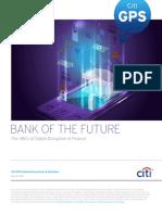 Citi GPS Bank of the Future