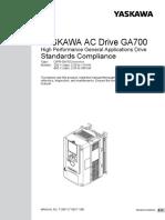 Toep c710617 18b Ga700 Compliance