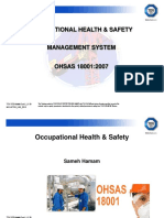OHSAS 18001 Requirements