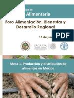 Foro Alimentación Bienestar Desarrollo Regional