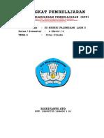 7. RPP Kelas 4 Tema 6 - Cita-Citaku