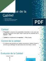 QFD - Función Despliegue de La Calidad