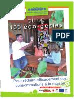 100 Eco-gestes Alsace