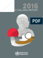 World Malaria Report 2016 Who