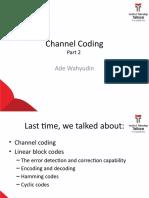 Materi 5 - Channel Coding - Convolutional codes.pptx