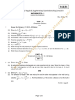 13A54101(SS) Mathematics - I