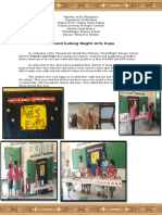 Second Sulong Arts Expo Report (Narrative)