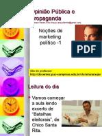 Noções de Marketing Político - 1