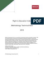 RTEI Methodology Technical Note 2016