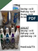 Oferta Pret Iaurt