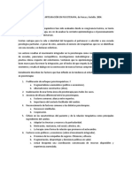 Resumen y Comentarios de Integración en Psicoterapia