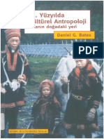 Daniels G Bates 21 Yüzyılda Kültürel Antropoloji İnsanın Doğadaki Yeri SÖ a.