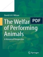 Welfare of Performing Animals
