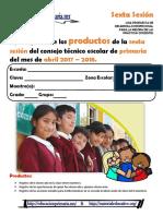 ProductosCTE6taSesPrimariaAbril2018