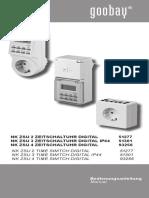 Manual Priza Programabila -Soba Rotat