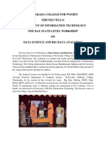 Big Data and Data Science Workshop