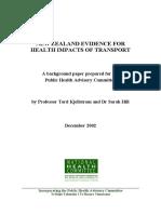 Health Impact Transport Phac