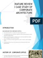 literaturereviewandcasestudyofcorporatearchitecture-160316174252