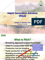 Rapid Generation Advance (RGA)