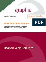 ABAP Debugging Concept