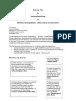 Draft Business Plan 2007