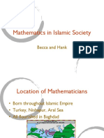 Mathematics in Islam