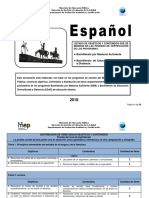 Espanol Bachillerato 2018