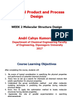 WEEK 2- Introduction of Chemical Product and Process Desgin