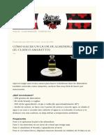 Como Hacer Un Licor de Almendras Casero.html