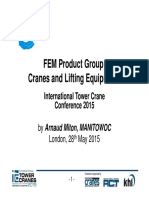 Arnaud Miton s Itc Presentation Crane Loads on Fundation