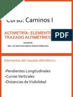 2 Elementos Del Trazado Altimetrico A