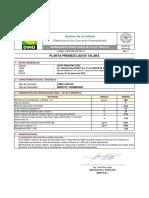 Sustento de Dosificaciones 280 V