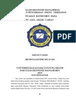 Tugas Makalah m. PMSRN Cargo