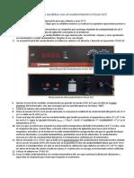 Calibración y Medidas Con El Conductímetro Crison