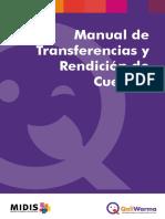 Manual Transferencia Rendicion Cuentas