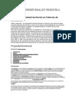 Propiedad Territorial en Venezuela