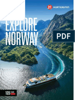 Hurtigruten Norway Brochure 2018 19