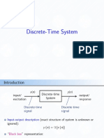 RTDSP c4 Discrete Time System