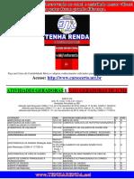 Tabela de Atividades Geradoras e Nao Geradoras de ICMS