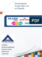 Presentacion Grupo Mars Inc Espana 2014 FINAL