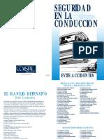 Defensive Driving - A Crash Course (Spanish)