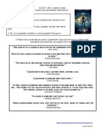 296 Ender's Game - Adjectives Describing Leaders