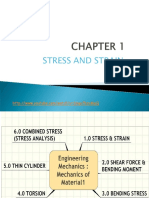 Chapter 1_stress and Strain