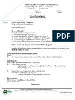 May 1 Moffat County Board of County Commissioners agenda