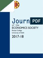 journal of economics society ramjas college 2017-18